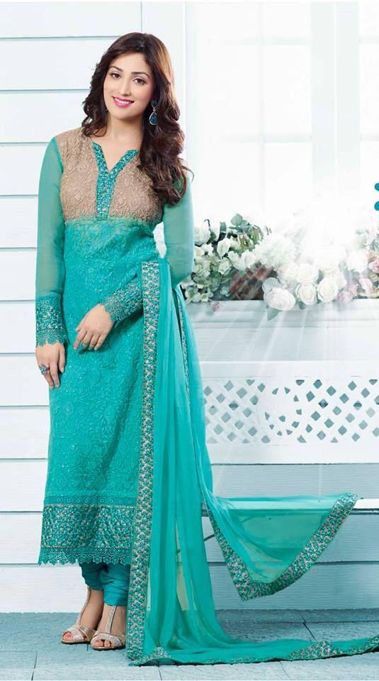 Yami Gautam Picture In Long Salwar Suits 2014|Girls Fashion