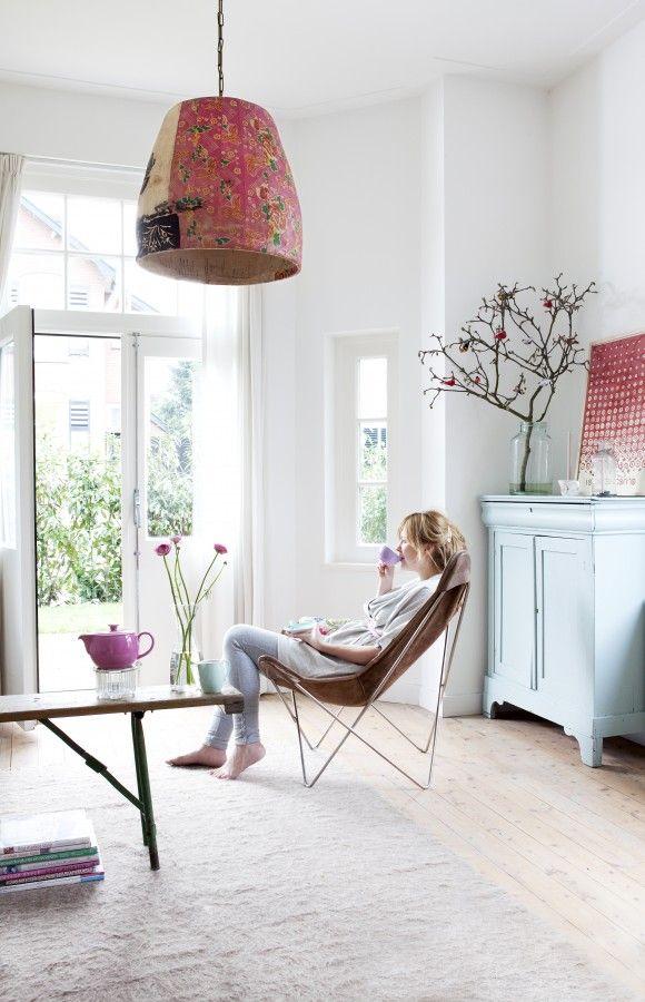 cabinet colorCabinets Colors, Lights Fixtures, Chairs, Light Fixtures, Interiors, Lights Shades, Paper Mache, Pretty Bedrooms Decor, Vintage Decor