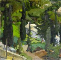 Τέτσης Παναγιώτης-Κήπος, 1970 - 1972