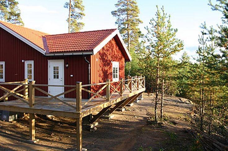 Angenehmes Ferienhaus in Schwedens idyllischer Natur
