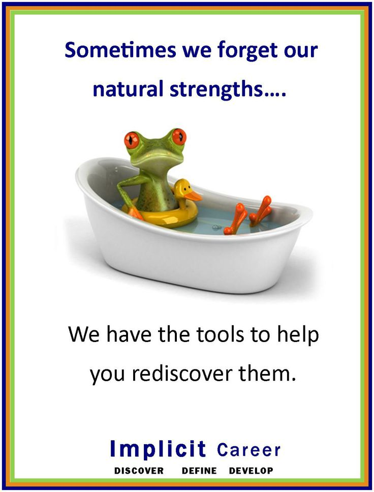 Even frogs forget to use their instinctive skills sometimes ! #career