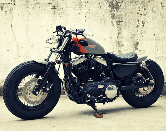 infinite-paradox:  Custom Motorcycle by Hidemo