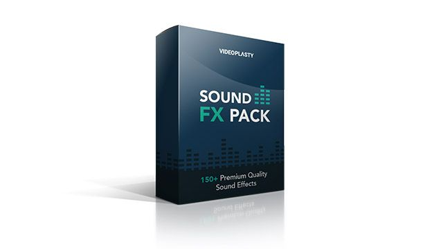 A pack with 150 premium quality sound effects for your videos in general categories