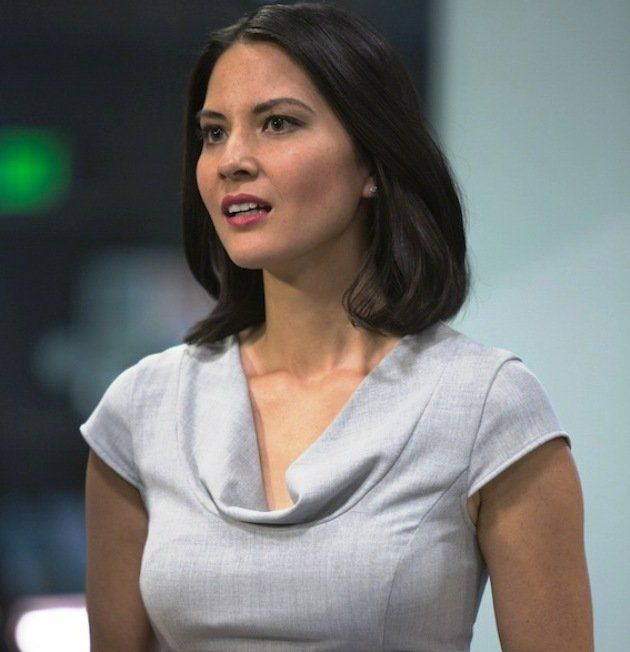 """33-year-old Olivia Munn plays Sloan Sabbith on HBO's """"The Newsroom"""". (Photo courtesy of HBO Asia)"""