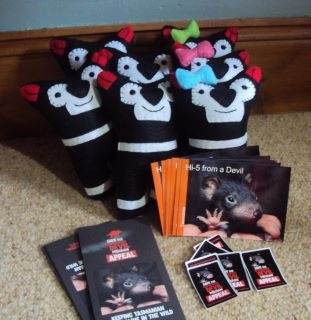 Purchase your very own handmade Tassie Devil and support the Save the Tasmanian Devil Appeal