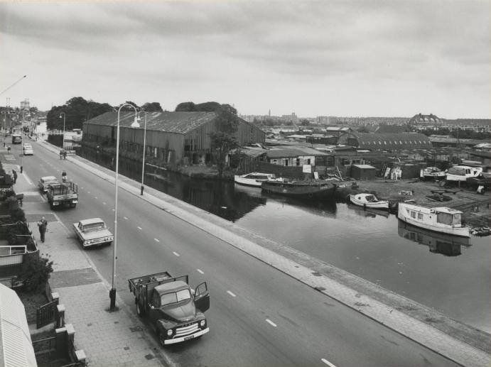 De Haagweg in Den Haag omstreeks 1962