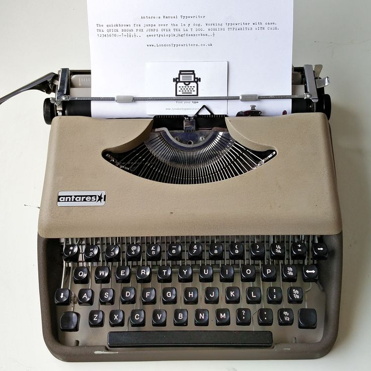 1960's Italian Antares manual typewriter. A very portable machine with style! Fully working and comes with a new ribbon. For sale on www.LondonTypewriters.co.uk! #londontypewriters #vintage #decor #vintagetypewriter #retro #prop #literature #poetry #retrodecor #collectable #typewriter #art #home #homedesign #lifestyle #poets #novel #writers #typewriterfont #keys #old #london #uk #ebay #etsy #Tuesday #italian #1960s