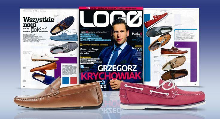 Dzisiaj specjalnie coś dla Panów! Styliści miesięcznika LOGO zaprezentowali dwa modele (https://wojas.pl/produkt/24237,https://wojas.pl/produkt/24182) wygodnych mokasynów marki Wojas!