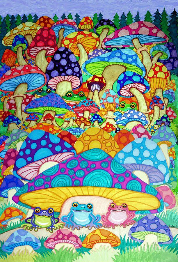 1000 Ideas About Mushroom Drawing On Pinterest Cartoon