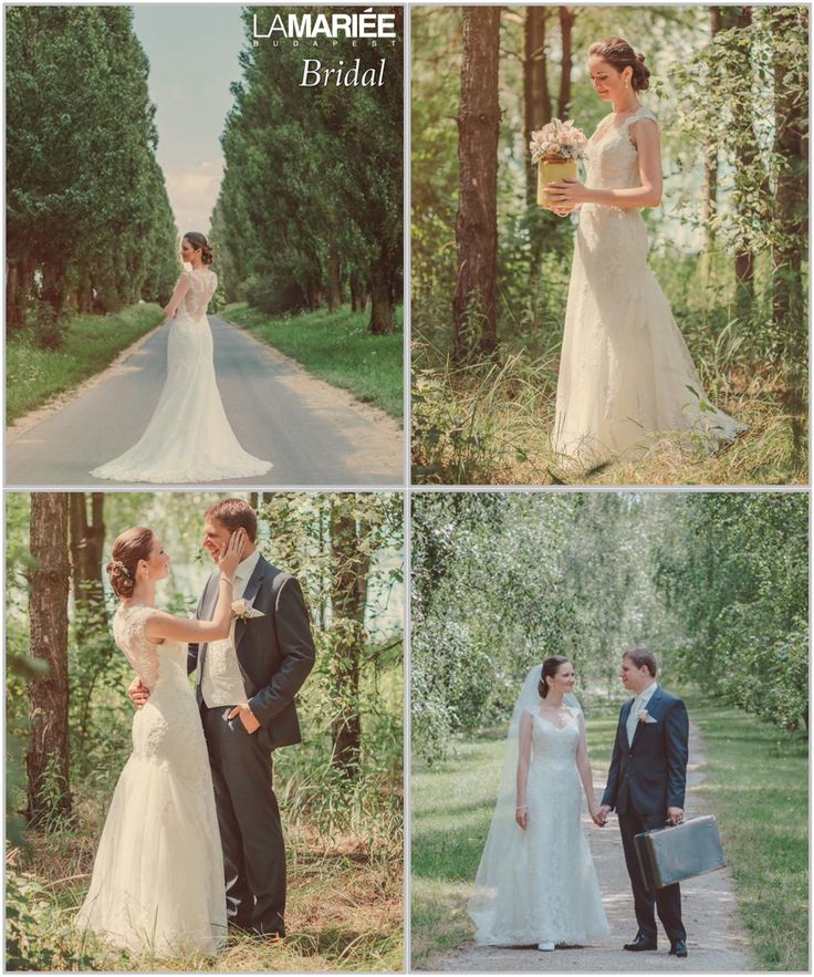 Laren esküvői ruha - Pronovias kollekció - Niki menyasszonyunk  http://lamariee.hu/eskuvoi-ruha/pronovias/laren_2