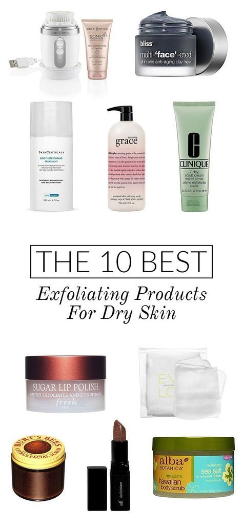 the 10 best exfoliating products for dry skin | glitterguide.com