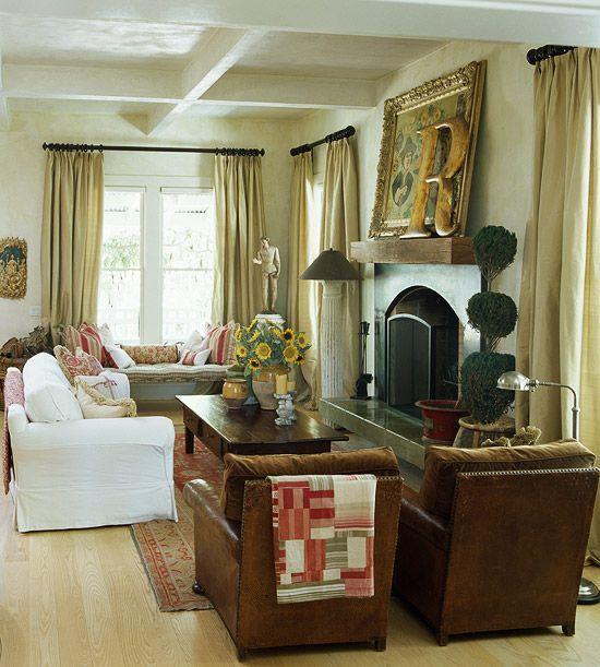 Living Room Decor Country