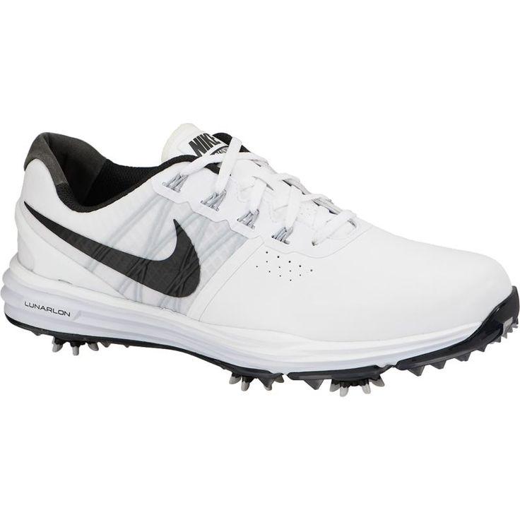 Nike Lunar Control 3 Golf Shoes, Men's, Size: 8.5, White
