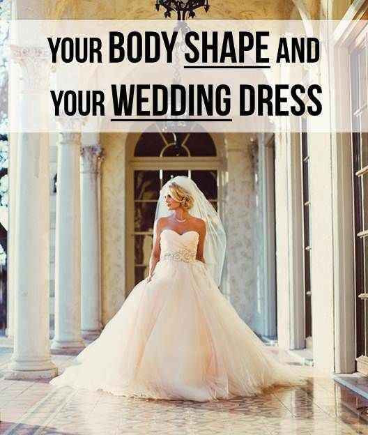 Your Body Shape and Your Wedding Dress
