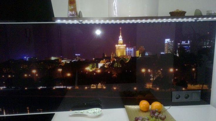 szklo do kuchni, panel szklane do kuchni warszawa