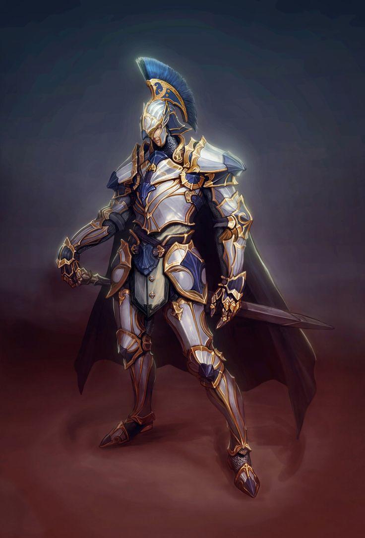 White knight, 보연 원 on ArtStation at https://artstation.com/artwork/white-knight-bd320758-7a0b ...