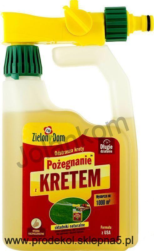 """Repelent """"Pożegnanie z kretem"""" - kanister www.prodekol.sklepna5.pl"""