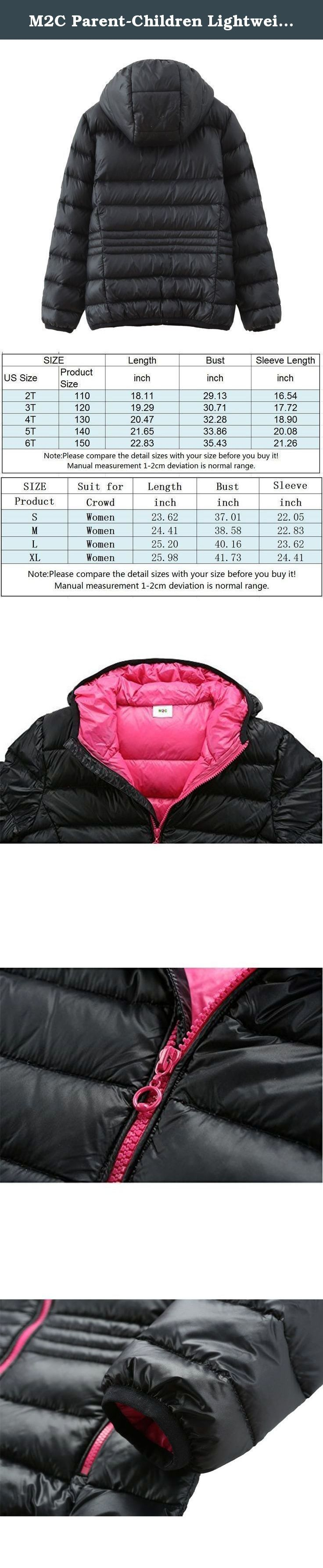 M2C Parent-Children Lightweight Puffer Hoodie Down Jackets Warm Slim Fit Coat. M2C ultra-light premium duck down packable jacket, provide you with professional apparel products, fashionable and comfortable. Brand:M2C Material:100% nylon outer and 100% nylon lining Filling:80% white duck down. Package include:1 PC Jacket .