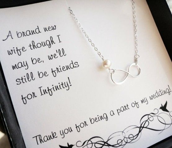 Cute idea for bridesmaids gifts