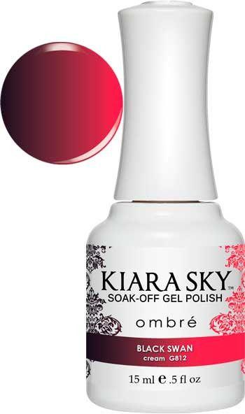 Kiara Sky Gel Polish - Black Swan