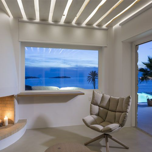 lighting design and implemantation for the bill and coo boutique hotel in Mykonos island Pavlos Ninios photos: Giannis Kontos #ifigroup #lighting #architecture
