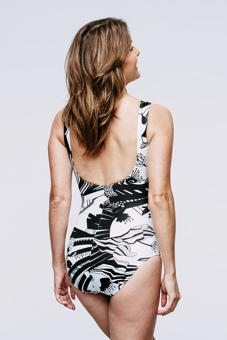 Lullebiegga Lyckling swimsuit (post-mastectomy swimwear, excellent in supporting a breast prosthesis or two)