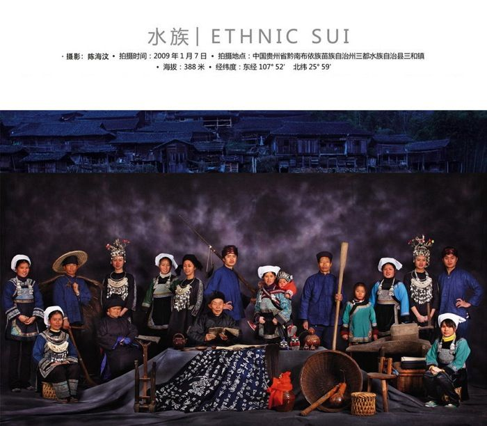 China's56 ethnic minority groups - ethnic Sui