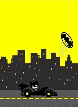 Las 25 mejores ideas sobre invitaciones de batman en for Cute car tag ideas