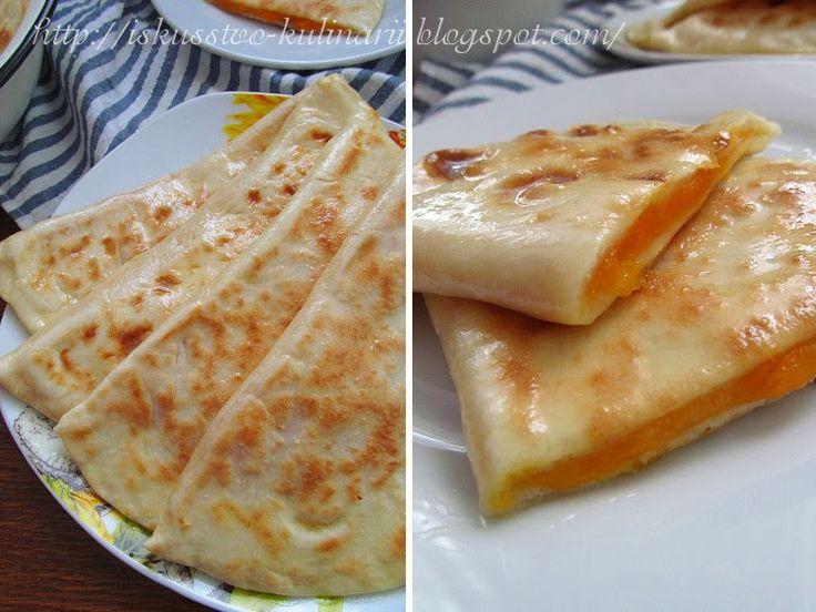 Постигая искусство кулинарии... : Хингалш - чеченские лепешки с тыквой