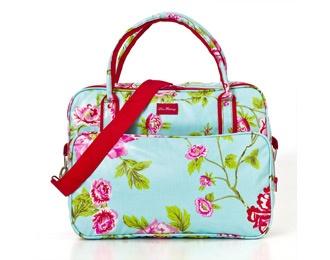 Lou Harvey - Laptop Bag - Rose - Aqua