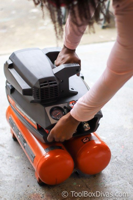 How To Use An Air Compressor >> Tools 101 How To Setup And Use An Air Compressor And Finish Nail