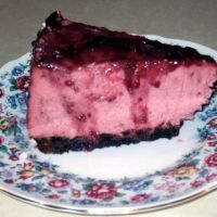 Black Raspberry Cheese Cake Recipe For instant pot: halved this recipe, added about  1/2 cup chocolate chunks. High pressure 35 mins , NR, sit for an hr, fridge for 6 or more. Topped with all natural raspberry preserves.