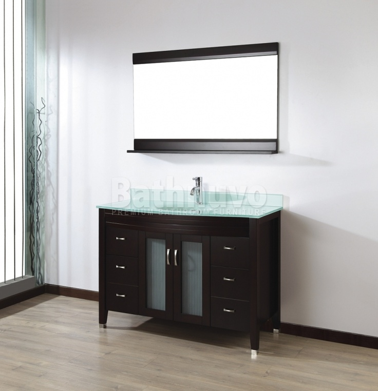 modern bathroom fountain valley reviews%0A Bauhaus Bath Alfa    in  Single Bathroom Vanity Set with Mirror  The  Bauhaus Bath Alfa    in  Single Bathroom Vanity Set with Mirror features a  spacious