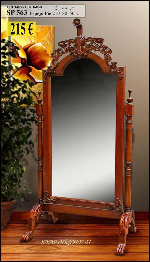 Ejemplo espejo de pie rococo alicia a trav s del espejo for Espejo de pie