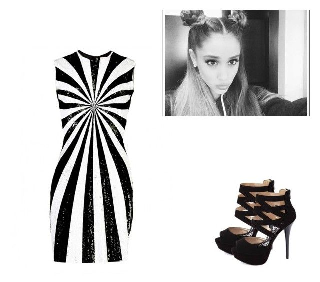 """""""I've got one less one less problem"""" by anaritaesp98 ❤ liked on Polyvore featuring Matthew Williamson and Charlotte Russe"""