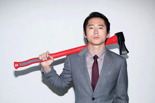 Steven Yuen :: The Walking Dead.  I love GLEN!