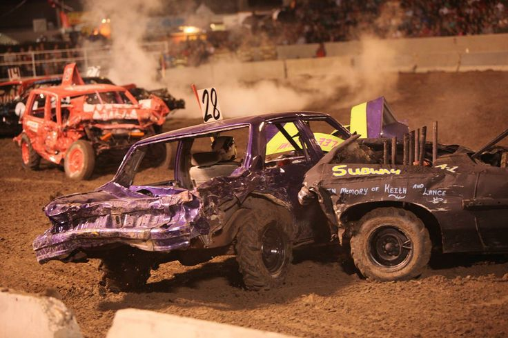 Demolition Derby 2013 | Eastern Idaho State Fair