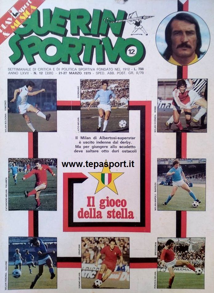 Marzo 1979 Dal Guerin Sportivo, Massimo Palanca, Giuseppe Savoldi ... ⚽️ C'ero anch'io ... http://www.tepasport.it/ 🇮🇹 Made in Italy dal 1952