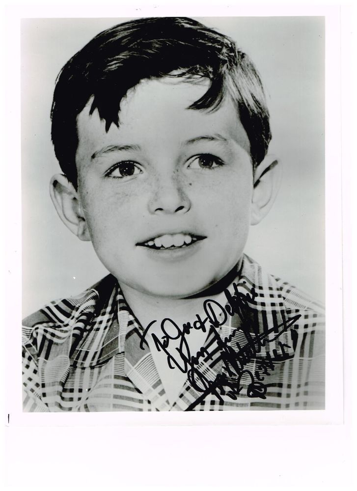 "Jerry Mathers ""Leave It Beaver"" in person signed photo"