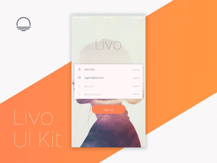 Livo UI Kit by Barthelemy Chalvet