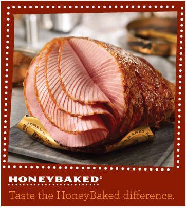 HoneyBaked Ham – The Leanest, Moist and Tender Ham #Traditions #Holiday #HoneyBaked  #Ham www.HoneyBaked.com