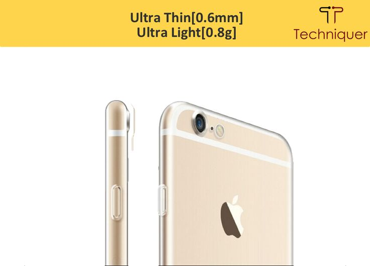 iPhone 6 Plus / 6S Plus clear case is ultra thin[0.6mm] and ultra light[0.8g]. http://www.amazon.com/Lightweight-Transparent-Protection-Absorption-Lifetime-Satisfaction/dp/B016KIDPGQ
