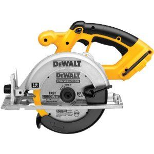 Loves me some power tools! DEWALT Bare-Tool DC390B  6-1/2-Inch 18-Volt Cordless Circular Saw