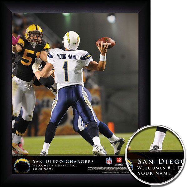 San Diego Chargers Headquarters: 17 Best Images About Personalized NFL Football QB Action
