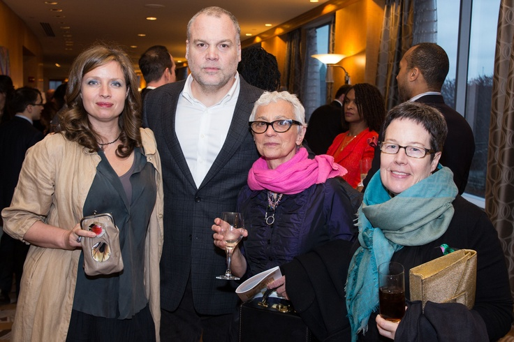 Law and Order: Criminal Intent's Vincent D'Onofrio and his wife Carin van der Donk with Sandy DiPasqua and Pat Bates. (Photo Credit: New York City Photography)
