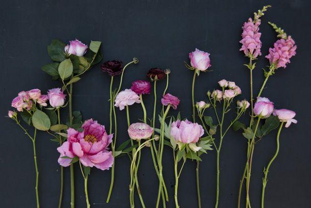 Menyasszonyi csokor - boglárka, pünkösdi rózsa, tátika, tavasz