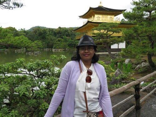 Kinkakuji - golden pavillion...
