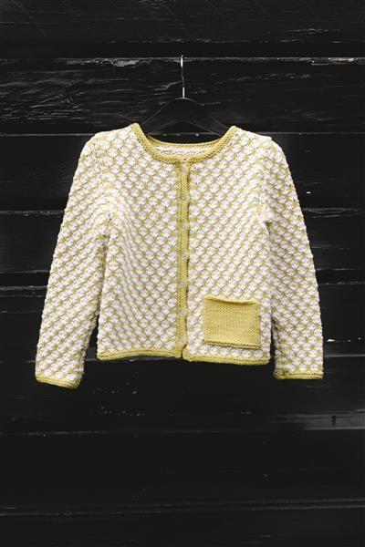 1512: Design 13 Jakke med lomme #strikk #knit