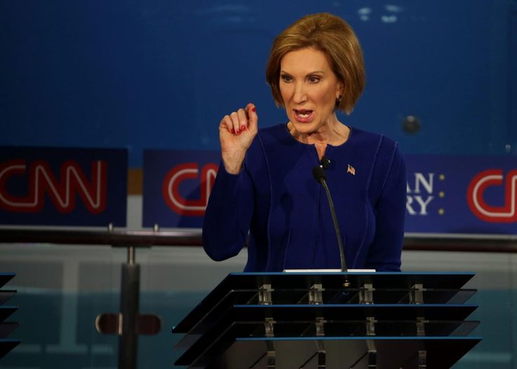 Carly Fiorina Surges to Second Place as Donald Trump Loses Ground in New Poll