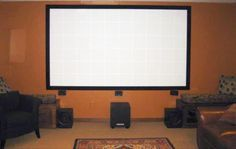 How to Build Your Own Projector Screen at Home for Less Than Fifty Bucks « MacGyverisms